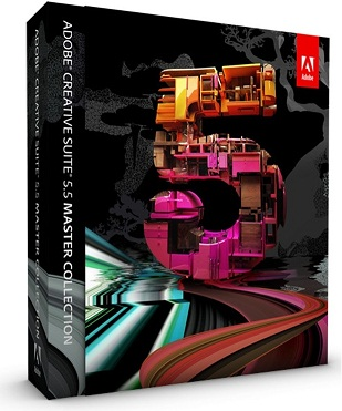 Capa Adobe Creative Suite 5.5 Master Collection + Crack