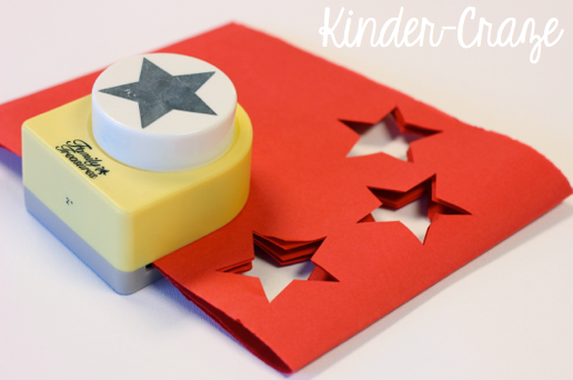 star shaped paper punch