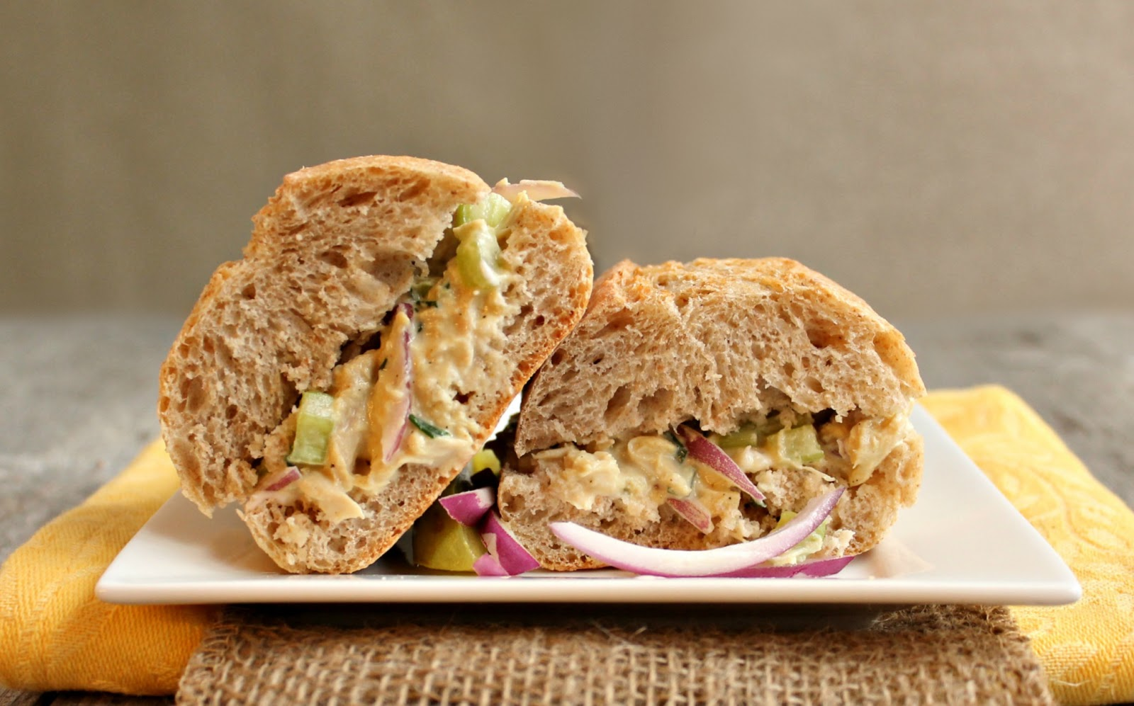 Hungry Couple: Light Curried Chicken Salad