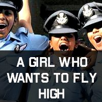 A Girl Who Wants To Fly High
