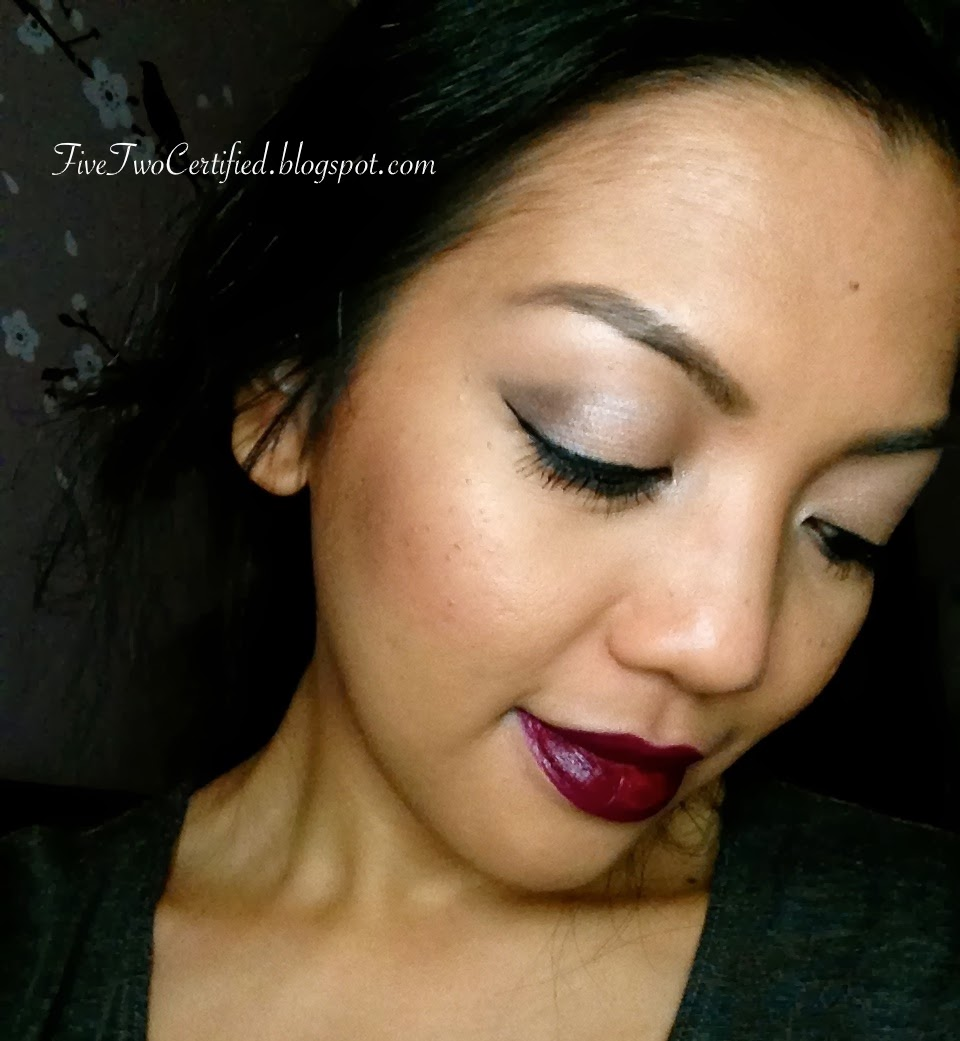 Fivetwo Beauty Review On Studio Gear Holiday Palette Fotd