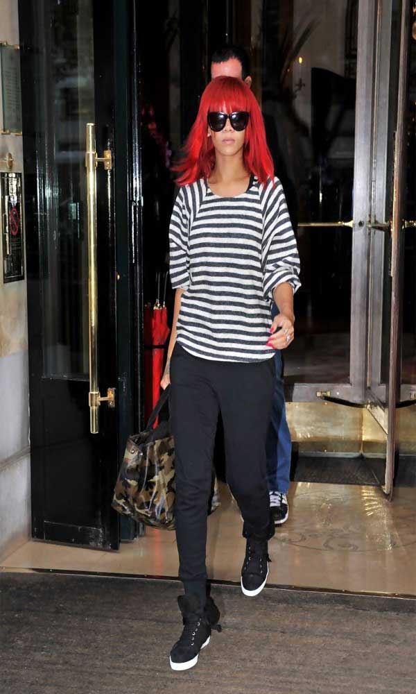 Rihanna Canvas Shoes Celebrities Style