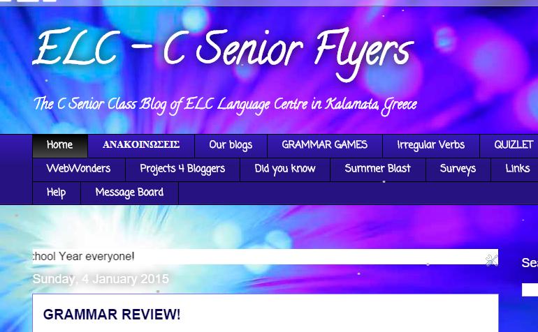 C Senior 2014 Blog