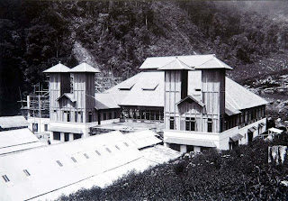 Photo2 Saat pembangunan hingga peresmian Stasiun Gunung Puntang....!!!