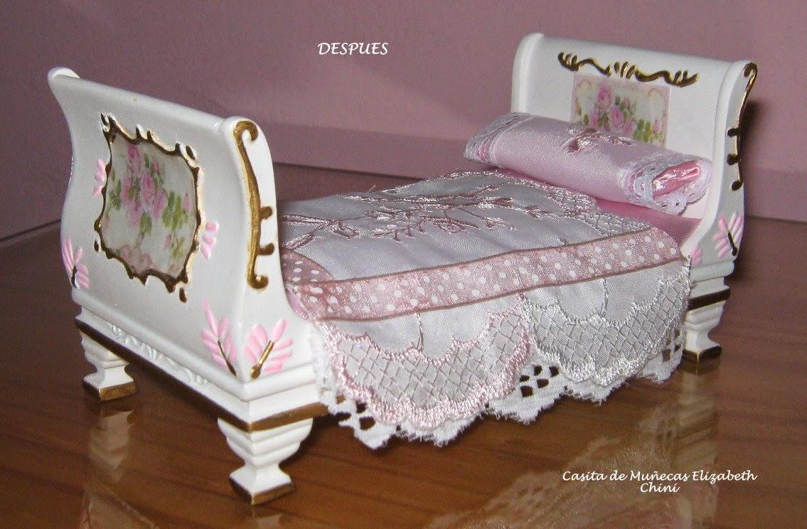 Casita de mu ecas de elizabeth muebles para el dormitorio for Muebles dormitorio nina