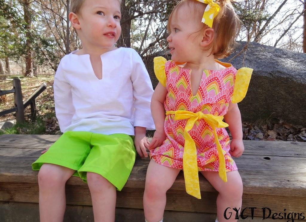 Seaside Summer Dress & Top by GYCT