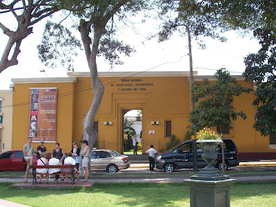 HISTORIA RESUMEN : DIRECCION DEL MUSEO DE ARQUEOLOGIA, ANTROPOLOGIA E