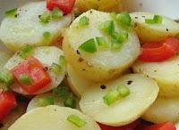 Salada de Batatinha (vegana)