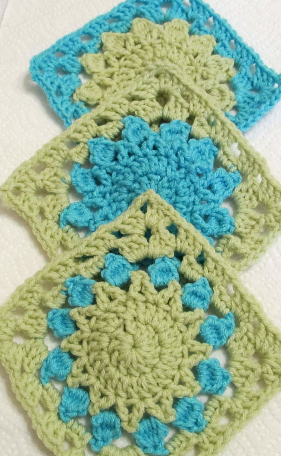 SmoothFox Crochet and Knit: SmoothFox Charity Square Nbr 1 thru 4 ...