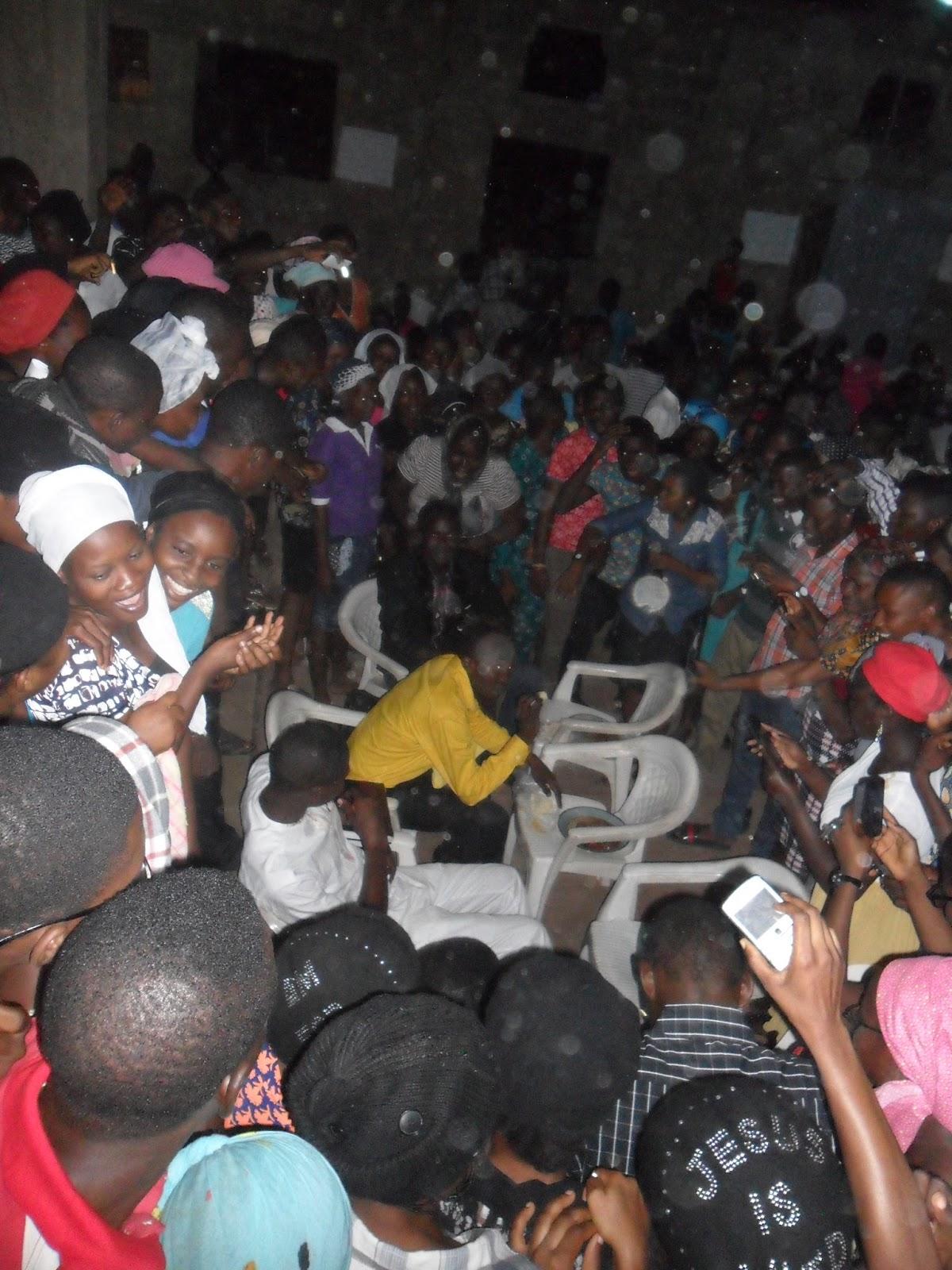 Hilarious Photos From Christ Apostolic Church Camps Fellowshipcaccfaaua Chapter Love Feast Held Yesterday At The Church Auditorium Church 9jagbedu