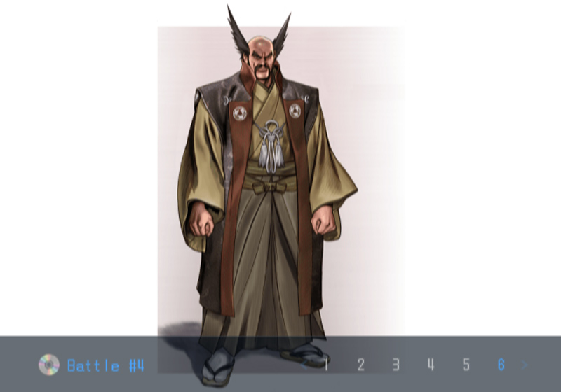 Death by Degrees Heihachi Mishima Character Design