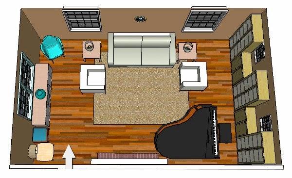Cara mengatur tata letak ruang rumah rancangan desain for Simple room planner