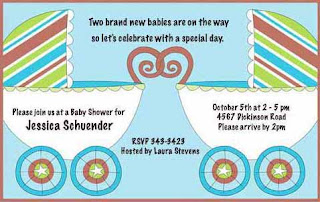 Baby Boy Baby Invitations 2