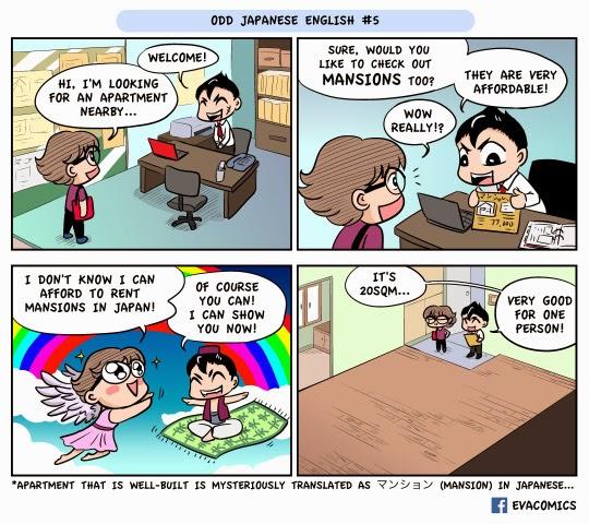 mansion apartment japanese english japan comics manga cartoon