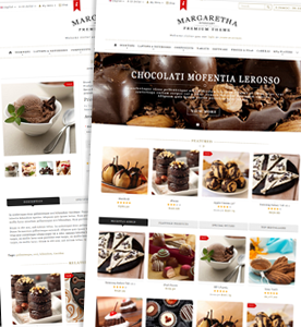 margaretha wordpress theme