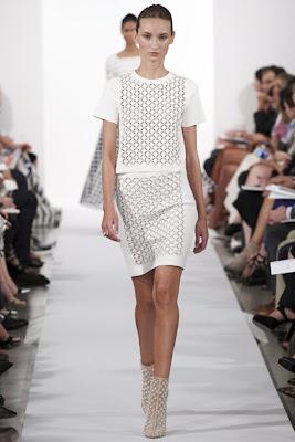 new york fashion week, spring summer 2014, ss 14, nyfw, oscar de la renta, white