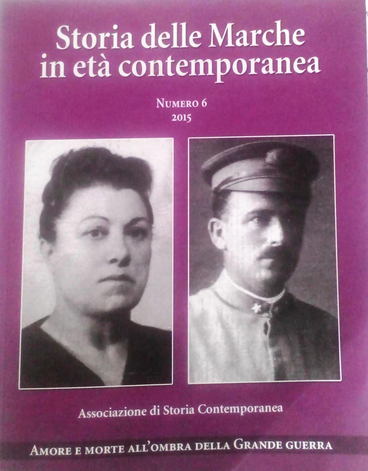 . Rivista. Storia delle Marche in età contenporanea