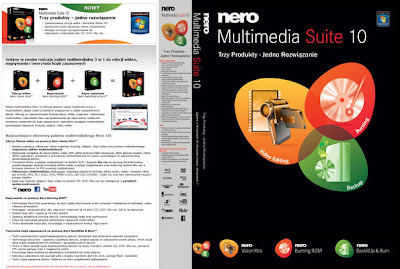 Nero 10 Multimedia Suite DVD Capa