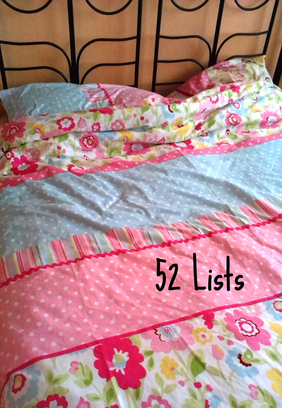 52 Lists - Your Dreams Right Now