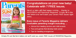 free Parents magazine