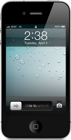 4G Indicator For iPhone 4 4S