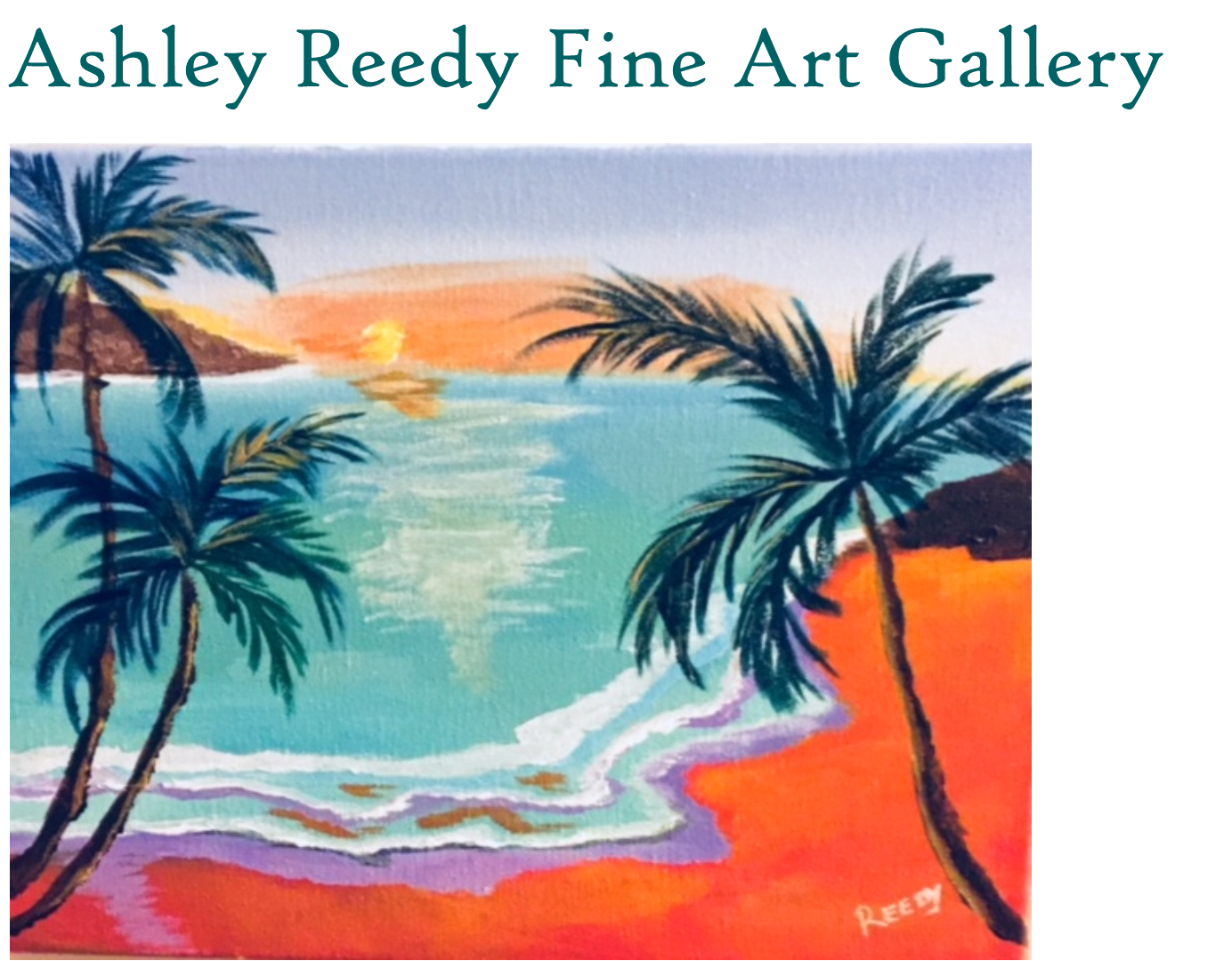 Ashley Reedy Fine Art Gallery