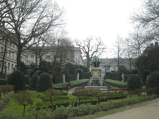Petit Sablon en Bruselas