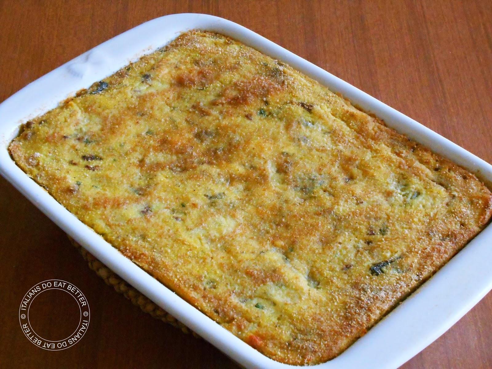 Tortino di patate con carciofi e salsiccia italians do for Cucinare wurstel al forno