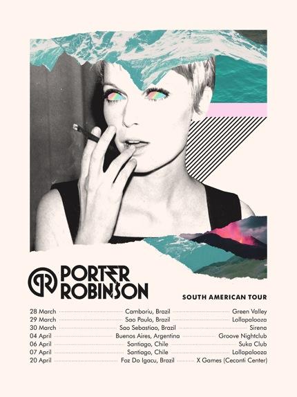Rock City Agencia Gira Sudamericana De Porter Robinson
