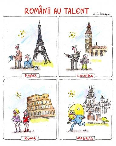phoca thumb l talent+bun+1 Caricaturi de caricaturi. By Costel Patrascan