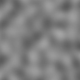 Perlin simplex noise in the interval (-2, -2, 0)-(2, 2, 0) computed in Java