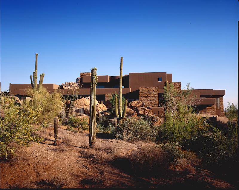 arizona hugh huddleson modern desert house scottsdale arizona hugh  title=