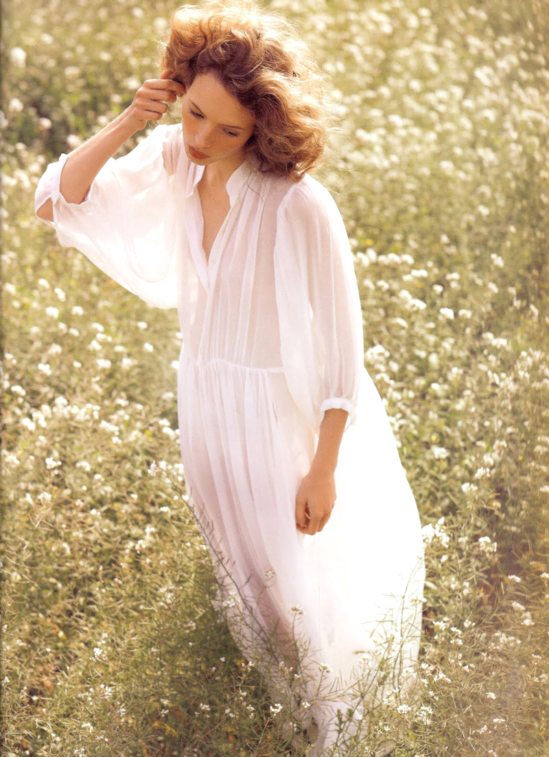 Mona Johannesson in Elle Sweden May 2008 (photography: Oscar Falk)