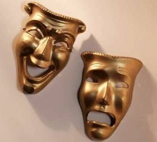 Image Result For Comedy Tragedy Mask