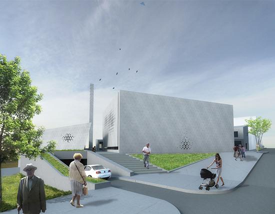 gambar model desain masjid minimalis