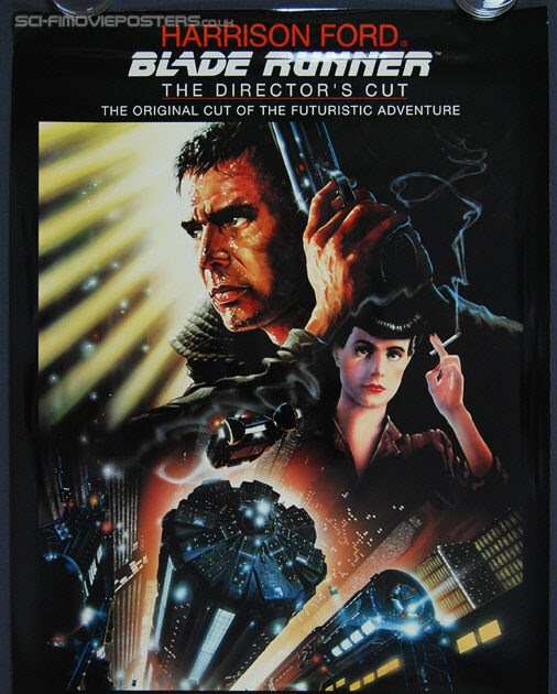 Blade Runner Directors Cut Movie Poster