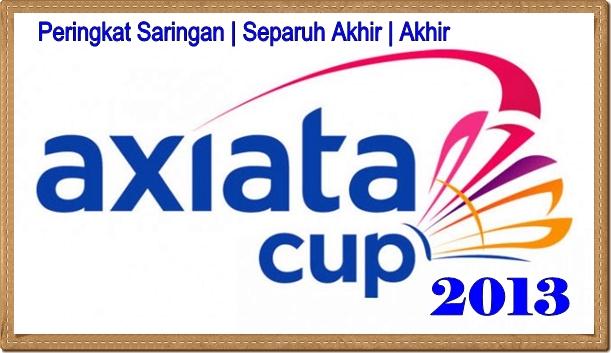 JADUAL PIALA AXIATA 2013 CUP MALAYSIA,KEPUTUSAN PERLAWANAN PIALA AXIATA 2013