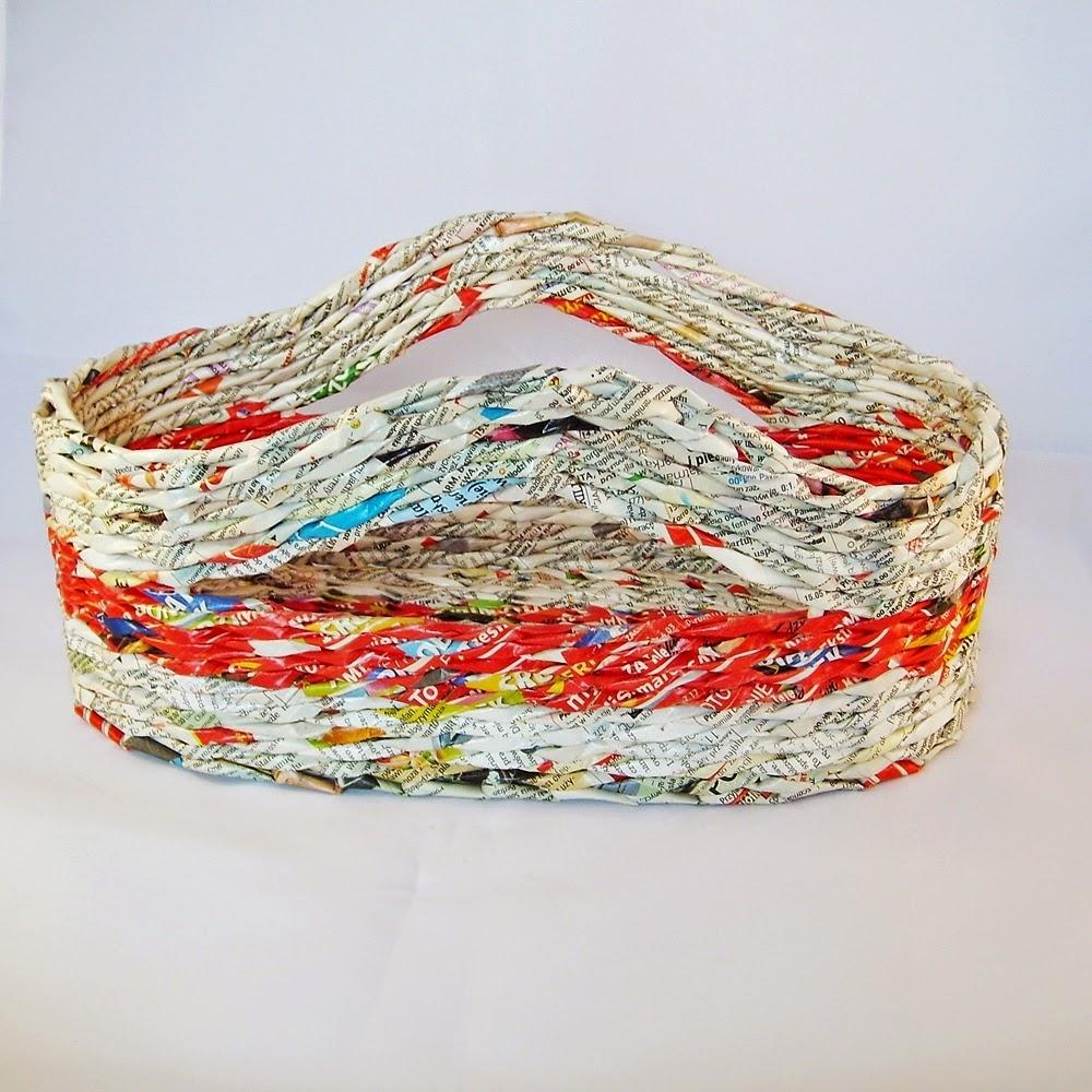 recyklingowy koszyk