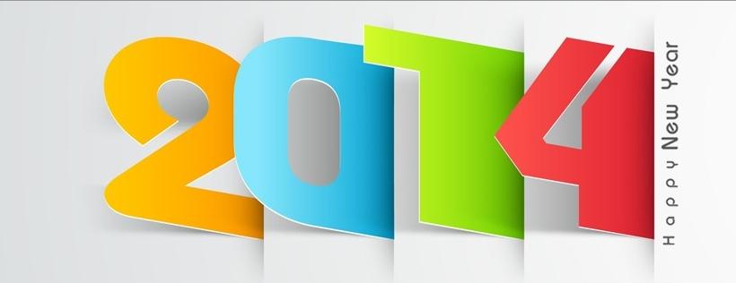 Ảnh Bìa Cover Chúc Mừng Năm Mới 2014 Đẹp Cho Facebook - Ảnh Bìa Fb Đẹp