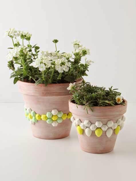 Design*Sponge - geometric gem planter