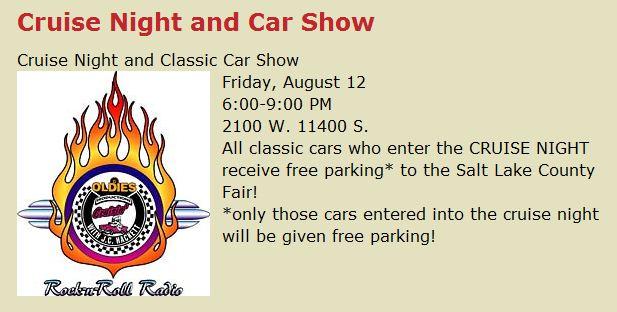 Salt Lake County Fair Car Show