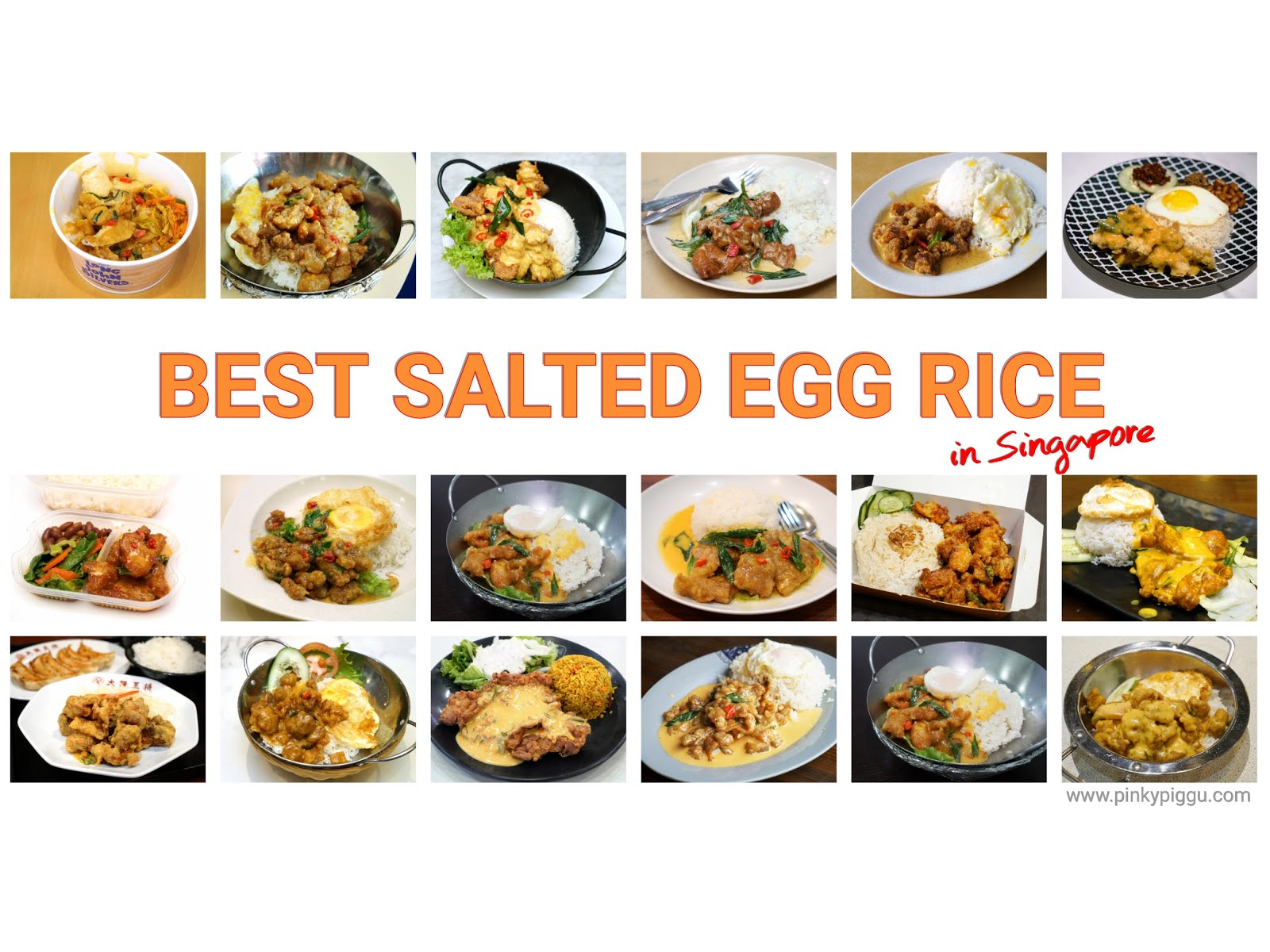 BEST Salted Egg Rice In Singapore! Chicken, Pork, & Halal Options Included!