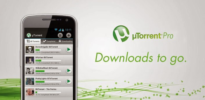 descargar utorrent android pro
