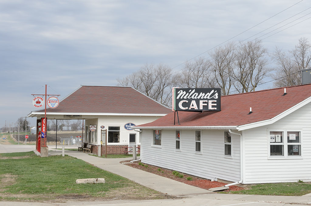 Niland's Cafe in Colo, IA