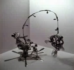 17 kreativitas sendok garpu orang memancing