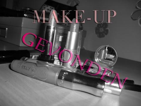 Ook nog make-up terug gevonden