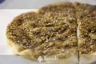 Minouche (Zaatar Bread)