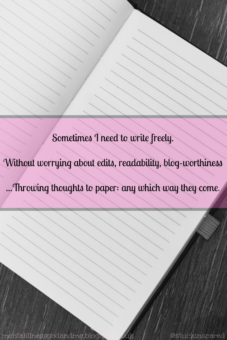 stuck in scared just a quote writing writing sometimes i need to write ly