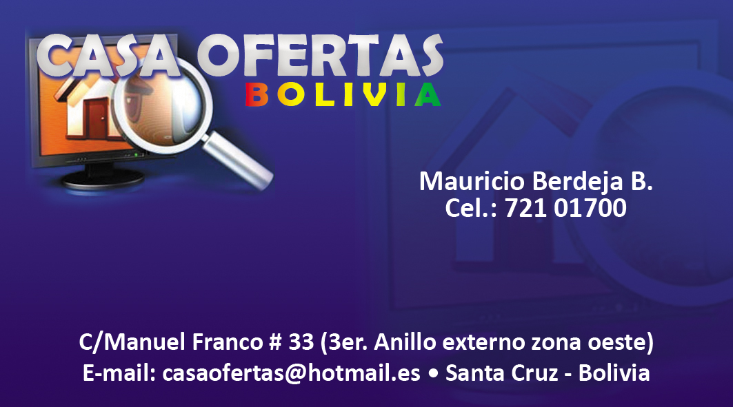 Casa Ofertas - Bolivia Bienes Racies
