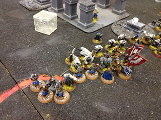 Hobbit SBG - Dwarf flank winning